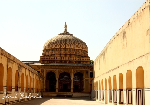 The famous Amer Fort